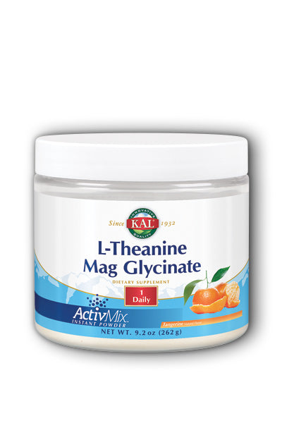 Kal  -L-Theanine Mag Glycinate ActivMix 7oz