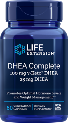 Life Extension - DHEA COMPLETE 100 MG 7-KETO® 25 MG DHEA