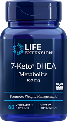 Life Extension - 7-KETO DHEA METABOLITE 100 MG 60 Vcaps