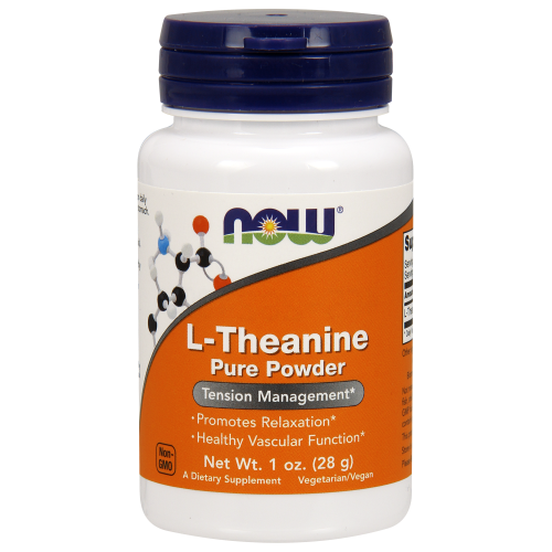 NOW FOODS -L-Theanine Powder, Pure - 1 oz.
