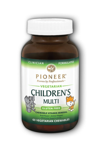 Pioneer Nutriti  -Children's Chewable Vit/Min 60ct