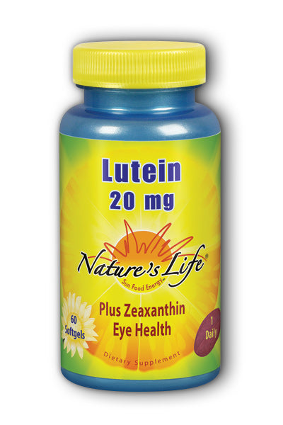 Natures Life -Lutein 20 mg 60ct