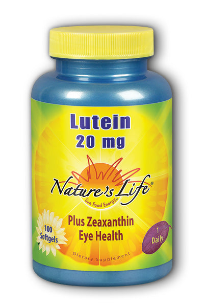 Natures Life -Lutein 20 mg 100ct