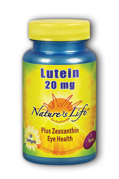 Natures Life -Lutein 20mg 30ct