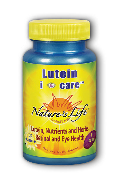 Natures Life -Lutein i care 30ct