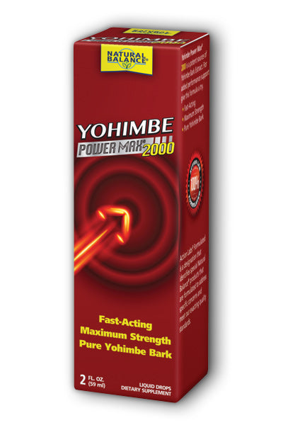 Natural Balance  -Yohimbe PowerMax 2000 2oz