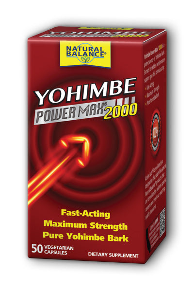 Natural Balance  -Yohimbe PowerMax 2000 50ct