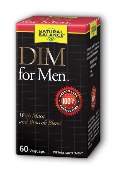 Natural Balance  -DIM for Men 60ct