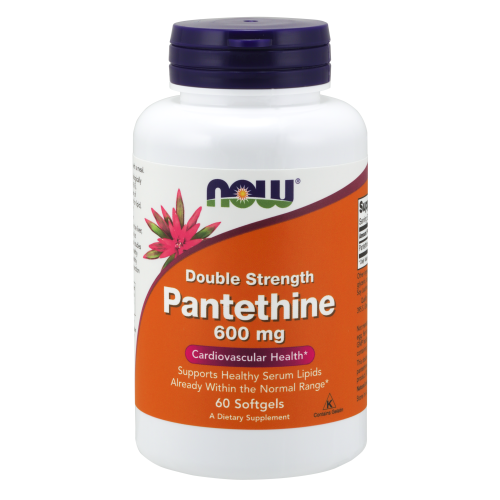 NOW FOODS -Pantethine 600 mg - 60 Softgels