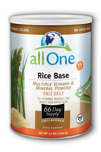 All One  -Rice Base - 66 Day Supply 2.2lb - Highland Health Foods