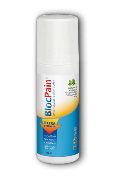 LifeTime- Blocpain, Roll-On, Natural , 3 oz
