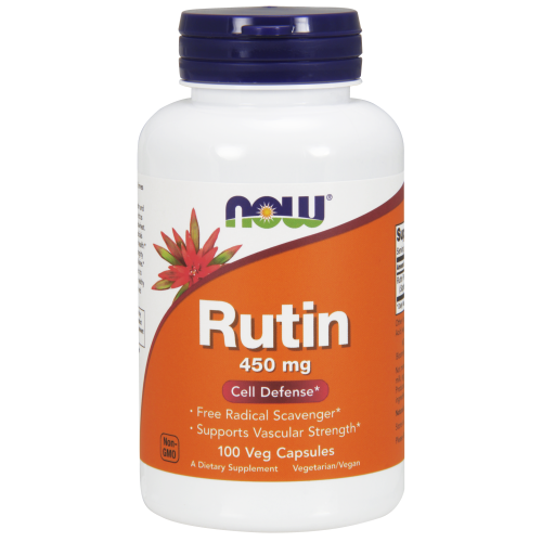 NOW FOODS -Rutin 450 mg - 100 Veg Capsules