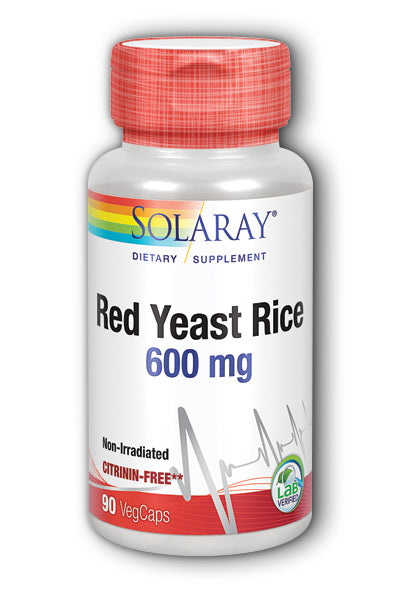 Solaray- Red Yeast Rice, Veg Cap , 90 ct