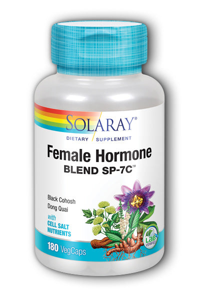 Solaray- Female Hormone Blend SP-7C, Veg, 180 ct