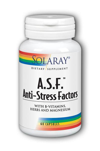 Solaray- Anti-Stress Factors, Capsule , 60 ct