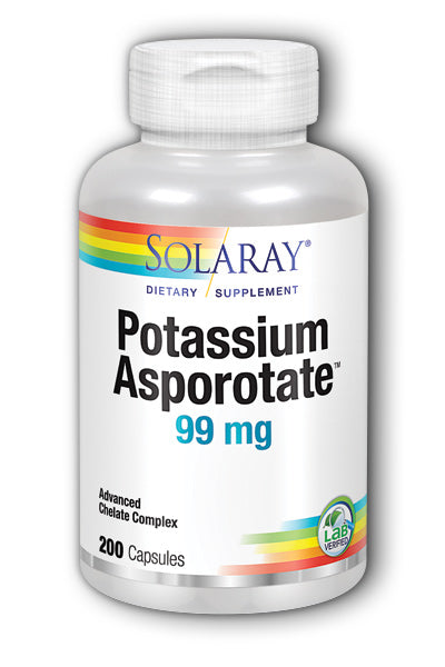 Solaray- Potassium Asporotate, Capsule , 200 ct