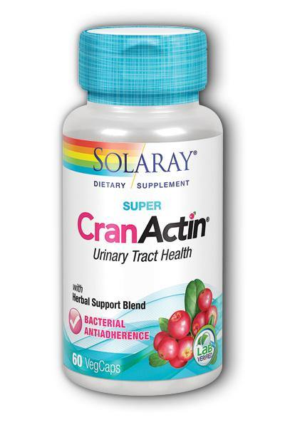 Solaray- Super CranActin, Veg Cap , 60 ct