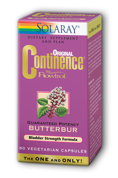 Solaray  -Continence with Flowtrol, Bladder Control Formula 60ct