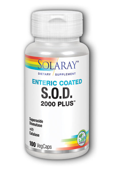 Solaray- S.O.D. 2000 Plus, Capsule , 100 ct