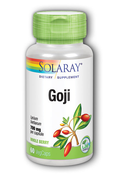 Solaray- Goji Berry, Veg Cap , 60 ct