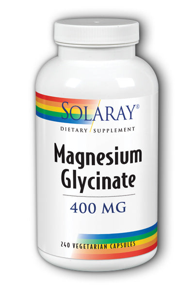 Solaray- Magnesium Glycinate caps, 240 vcaps