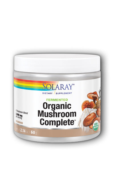 Solaray- Org. Mushroom Complete powder, 2.14 oz