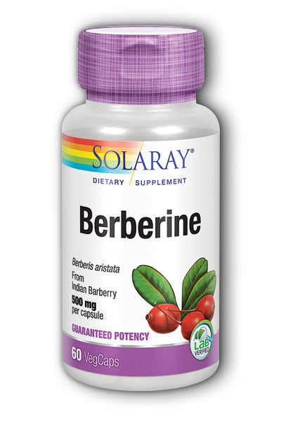 Solaray  -Berberine 500 60ct