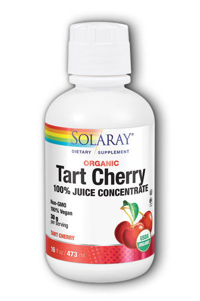 Solaray  -Organic Tart Cherry Juice 16oz