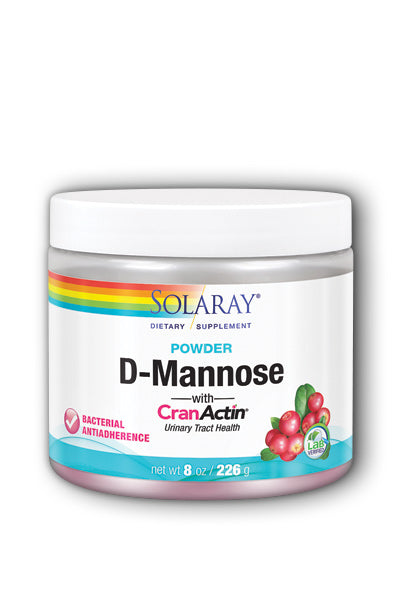 Solaray  -D-Mannose with CranActin Cranberry Extract 226g