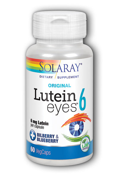 Solaray- Lutein Eyes, Capsule , 60 ct