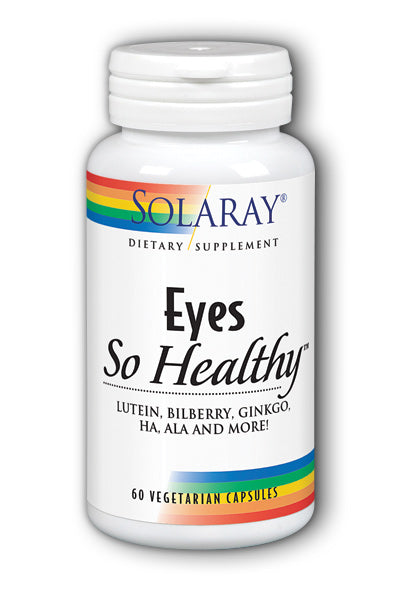 Solaray  -Eyes Complete, Eye Support Formula 60ct