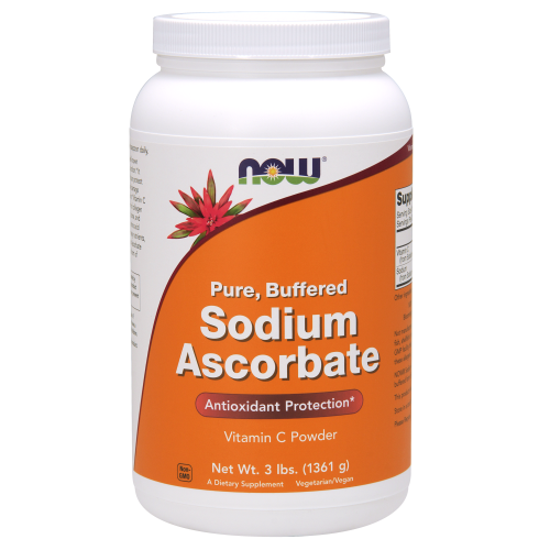 NOW FOODS -Sodium Ascorbate Powder - 3 lbs.