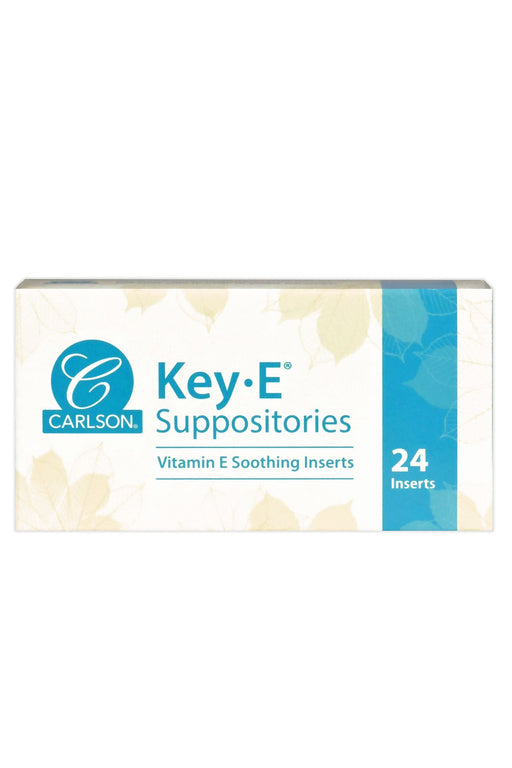 Carlson-Key-E® Suppositories, Box of 24
