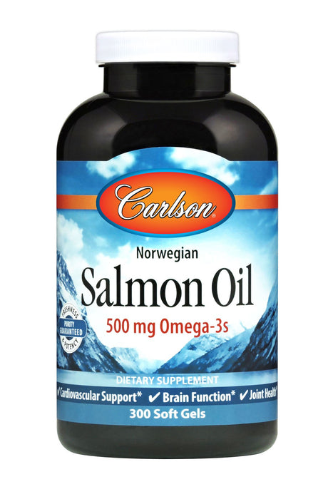 Carlson-Norwegian Salmon Oil, 300 Soft Gels