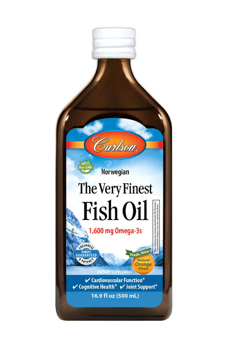 Carlson-The Very Finest Fish Oil, Orange, 500 mL