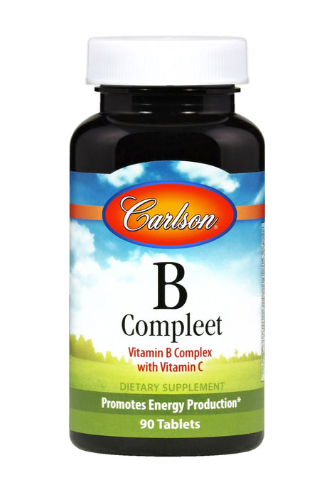 Carlson-B-Compleet™, 90 Tablets