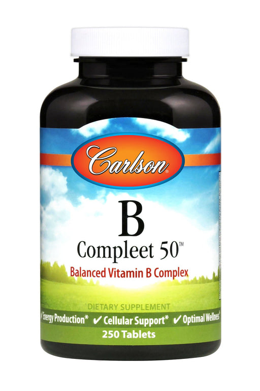 Carlson-B-Compleet™ 50, 250 Tablets