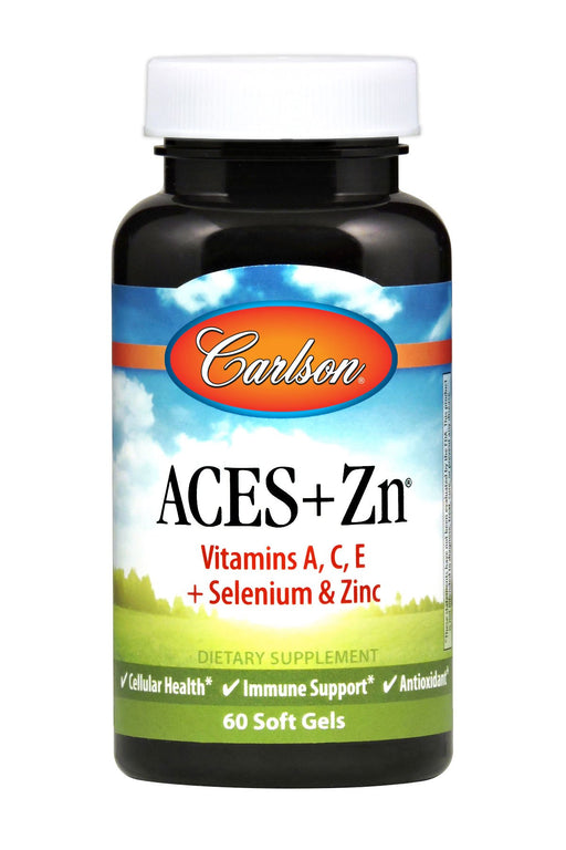 Carlson-ACES + Zn®, 60 Soft Gels