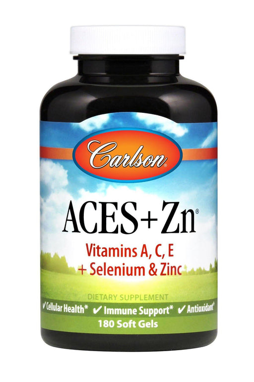 Carlson-ACES + Zn®, 180 Soft Gels