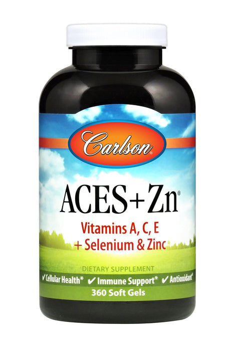 Carlson-ACES + Zn®, 360 Soft Gels
