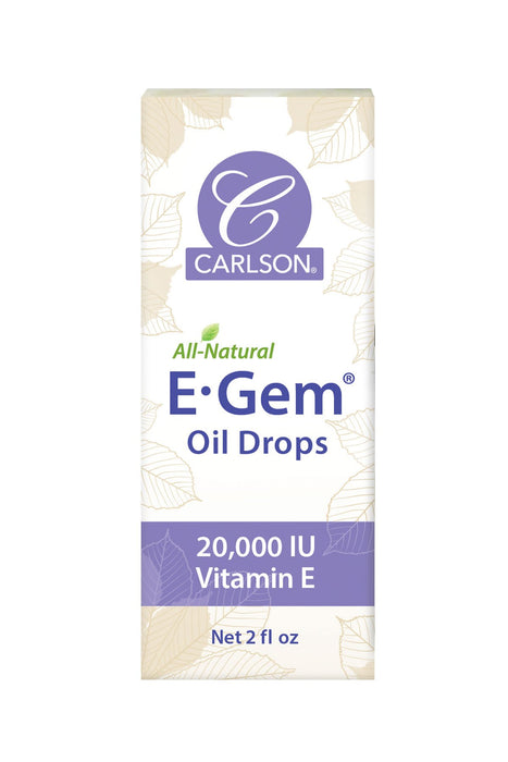 Carlson-E-Gem® Oil Drops, 2 oz