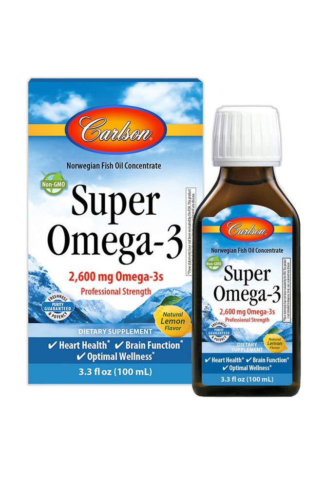 Super Omega-3®, Lemon, 100 mL