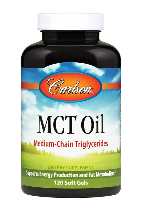 Carlson-MCT Oil, 120 Soft Gels