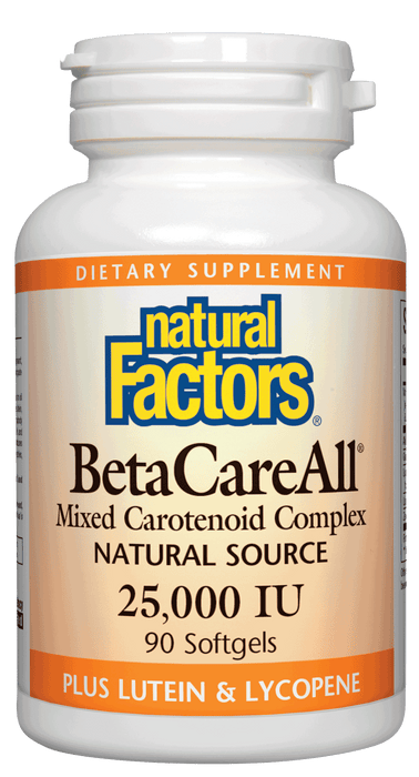 Natural Factors-BetaCareAll® 25,000 IU 90 SG