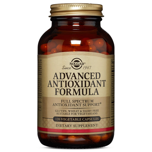 Solgar- Advanced Antioxidant Formula Vegetable Capsules- 120
