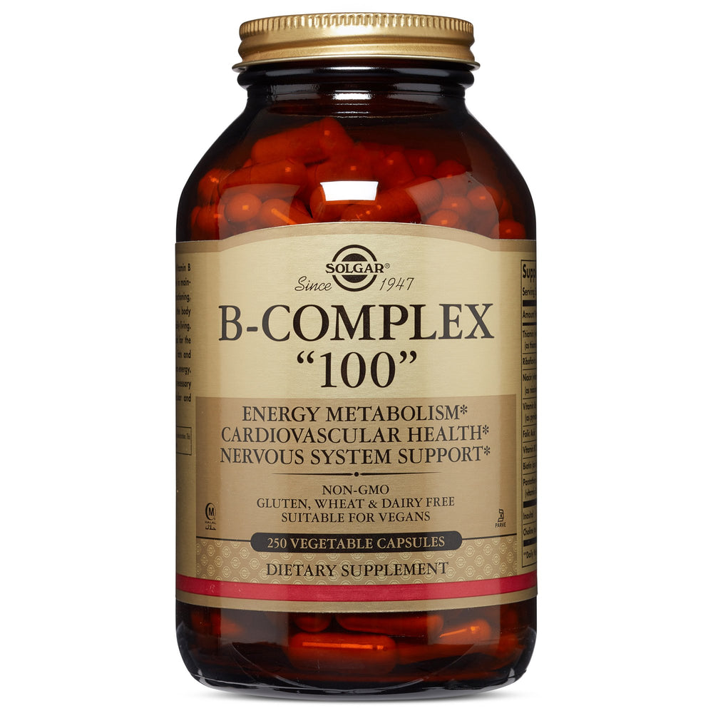 "Solgar- B-Complex ""100"" Vegetable Capsules- 250"