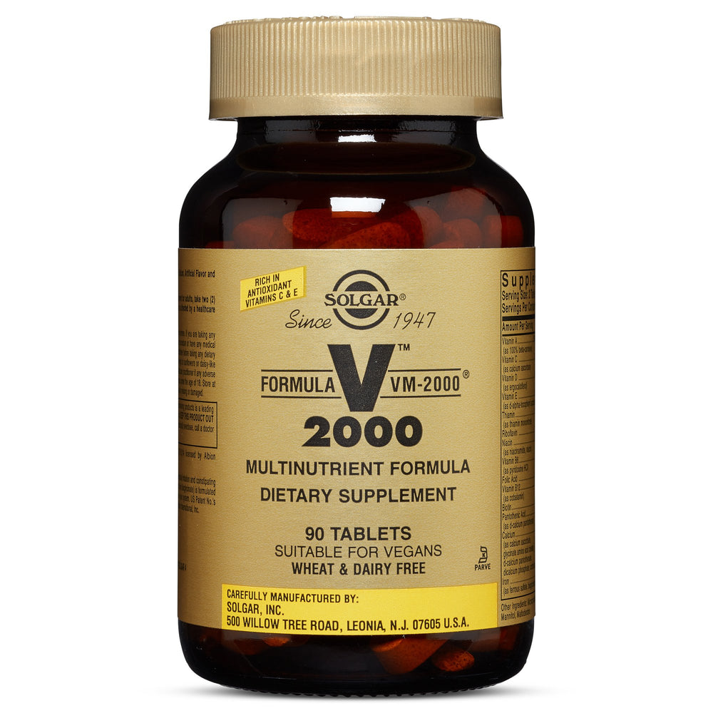 Solgar- Formula VM-2000® Tablets (Multinutrient System)- 90