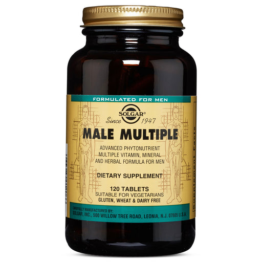 Solgar- Male Multiple Tablets- 120