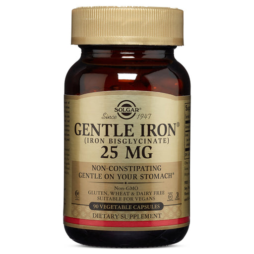 Solgar- Gentle Iron® Vegetable Capsules**- 90