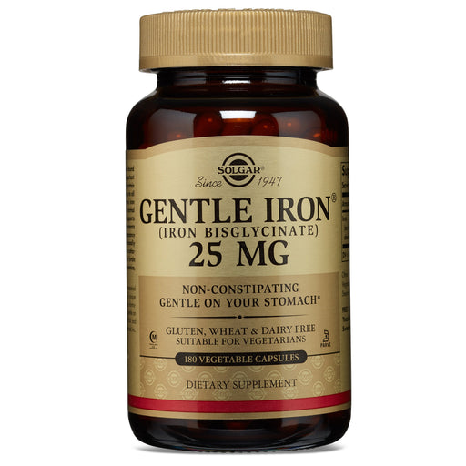 Solgar- Gentle Iron® Vegetable Capsules**- 180